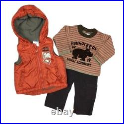 Infant Baby Boy 6 M Fall Winter Outfits Shirts Pants Sets Clothes 35 Pc Lot