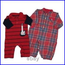 Infant Baby Boy 6 M Fall Winter Shirts Pants Sets Clothes Outfits 35 Pc Lot