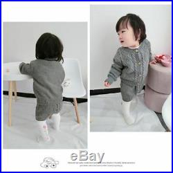 Infant Clothing Cotton Knitted Suits Long Sleeve Top Shorts Outfit Autumn Winter