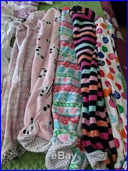 Infant Girls 18-24 mo LOT Infant Clothes Pants, Onesis, Shirts, Pajamas S/L