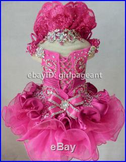 Infant/toddler/baby/Girl/Kids Gliz Formal Pageant Dress G015