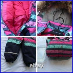 Kids Girls -20 Baby Winter Clothes One Piece Jumpsuit Warm Snowsuit Overalls