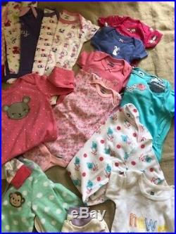 LOT NWT Baby Girls Clothing 28- Pcs set 6-9 Months