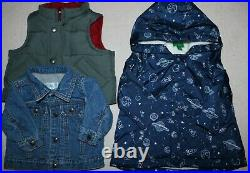 LOT Of BABY BOYS WINTER CLOTHING Size 0-3, 3, 3-6 Months 136 Pieces