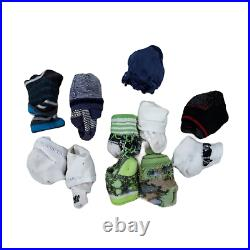 Lot 44 Baby Boys Clothing Bundle Infant Size NB 3 6 Month Bulk Wholesale Outfits