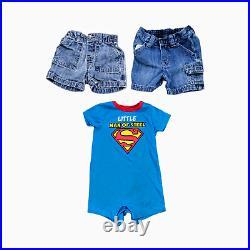 Lot 45 Baby Boys Clothing Bundle Infant Size 6-12 Months Bulk Wholesale Outfits