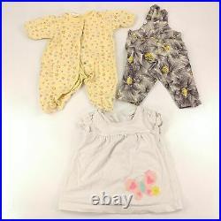 Lot 50 Baby Girls Clothing 0-6 Months Newborn Infant Clothes Bundle & Bonus