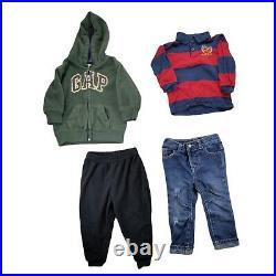 Lot 56 Baby Boys Warm Winter Fall Clothing Bundle Infant Size 18-24 Months Coat