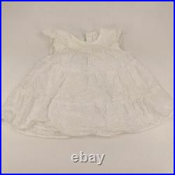 Lot 58 Baby Girls Clothing 6-12 Months Infant Clothes Dresses Sleepers Bundle +