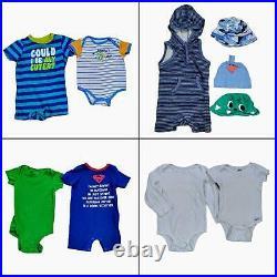 Lot 77 Baby Boys Clothing Bundle Infant Size 18-24 Months Bulk Wholesale Outfits