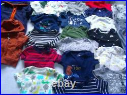 Lot Baby Boy Clothes 6-9-12 Months Outfits Fall Winter Shirts Pants Jackets