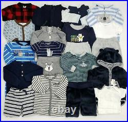 Lot Baby Boy Clothes 6-9 6 Months Outfits Romper Sleepers Fall Winter Sets