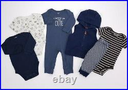 Lot Baby Boy Clothes 9 Months Carter's Sets 34pc Fall Winter Outfits