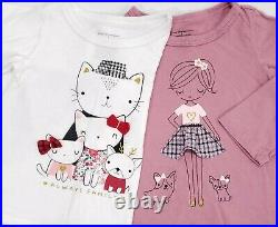 Lot Baby Girl Clothes 12 & 12-18 Months Outfits Fall Winter Shirts Pants Dresses