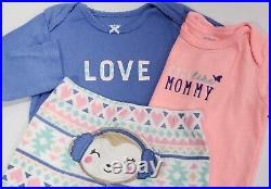Lot Baby Girl Clothes 18 Months Carter's Sets Fall Winter Outfits