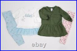 Lot Baby Girl Clothes 24 Months Carter's Sets Fall Winter Outfits