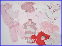 Lot Baby Girl Size 12 & 12-18 Months Clothes Carter's Outfits Fall Winter Sets