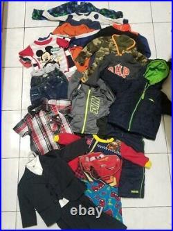 Lot Baby boy clothes 33pcs 12 months Carters, Coogi, Nike, Puma, Wrangler etc