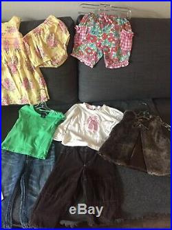 Lot Of 18 Months Baby Girls Clothes And Accesories 16pcs
