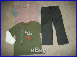 Lot Of 24 Boys Size 3t 4t Fall Winter Name Brand Under Armour Osh Kosh Nike 720