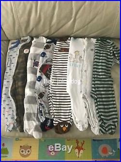 Lot Of 50+ Baby Boy Clothing/accessories Size 0-6m 3-6m 4-6m 6m No Stains/holes