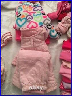 Lot Of 50 Baby Girl Winter Clothes 0 3 Months Carters Childrens Place Baby Gap