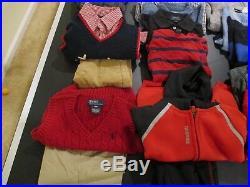 Lot Toddler Boys Fall Winter Clothes 2T 24M Baby Gap Polo Reebok Arizona Levis