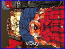 Lot Toddler Boys Fall Winter Clothes 3T Baby Gap Old Navy Denim Co Wrangler H&M
