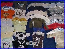 Lot of baby boy clothes newborn to 3-6 winter and summer