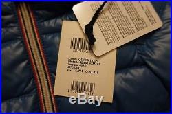 MONCLER Aubert Baby Boy's Blue Down Jacket Coat Puffer Size 6-9 Months