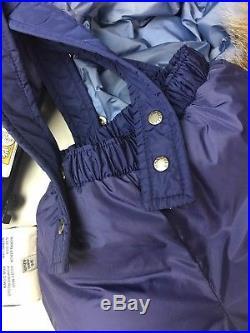 MONCLER Baby Down Jacket Coat Puffer Snowsuit Size 3-6 Months