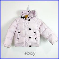 Moncler Authentic Toddler Girls Down Puffer Winter Coat Light Pink 92 2A 2T