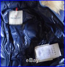 a608eb40b Moncler Baby Boy Or Girl Designer Raccoon Fur Trim Snow Suit 6-12 ...