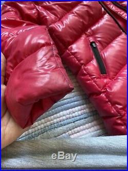 Moncler Baby Girls Moka Coat Fuschia Hot Pink 2 92cm Down Winter Ski Jacket