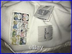 Moncler Baby born Jacket White Sack 54/60 Down Feather