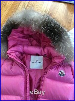 Moncler Enfant Pink Snowsuit 12/18 mos Excellent Condition- Girls