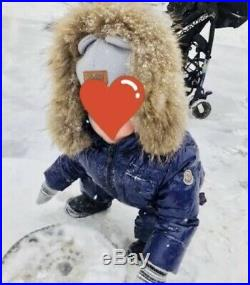 Moncler childrens down jacket baby boy kids girl clothing overalls pants 12-18