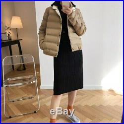 Mooirue Autumn Winter Korean down Jacket Overcoat Coat Femme Clothes short Down