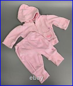 NEWBORN Baby GIRL Clothes Lot Of 31 Pieces Carters Child Of Mine Gerber And More