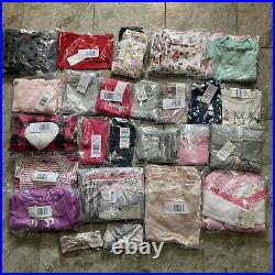 NEW 53 Clothing Items Baby Girl 3-6 Months Lot