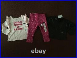 NEW Huge 21Pc Baby Girls Size 12-18 Months Clothing Lot FALL WINTER NAME BRAND