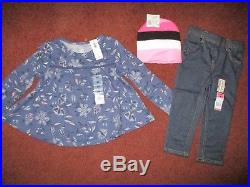 NEW NWT'S Girls FALL & WINTER Size 2T Lot Clothes & Outfits Wardrobe