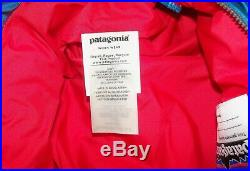 NEW Patagonia Boy's Girl's Bunting Snow Suit, 75% Down, Blue, Red, 3-6 Months