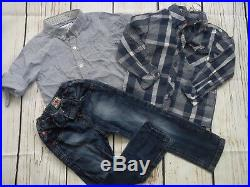 NEW USED WINTER SUMMER NICE 40x BUNDLE BABY BOY CLOTHES 18/24 MTHS 24+MTHS (5.2)