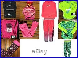 NIKE GIRLS 4T 9pc WINTER CLOTHING DRI-FIT LEGGINGS SWEATSHIRTS $298