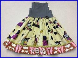 NWOT Matilda Jane Platinum Bewitching Halloween Tank Dress Ballerina Size 2