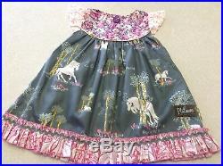 NWOT Matilda Jane Platinum Leave a Little Sparkle Flutter Dress #3/16 Size 2