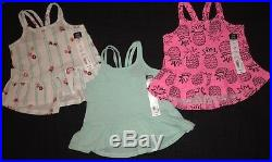 NWT Adorable Baby Girls Spring & Summer CLOTHES LOT Outfit Set 6-9 & 12M Lot # 5