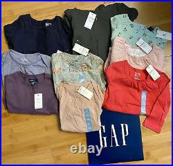 NWT Baby Gap Baby Girl Clothes Size 6-12 and 12-18 Months Lot Bundle Everything
