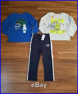NWT Boy's Fall/ Winter Clothes Lot Size 4/4T Brand Names NEW